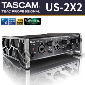 TASCAM US-2X2 USB 오디오인터페이스 2in/2out