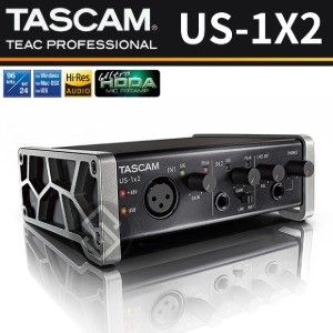 TASCAM US-1X2 USB 오디오인터페이스 1in/2out